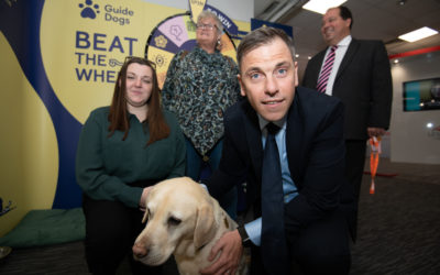 Chris Evans MP backs Guide Dogs campaign on the use of e-scooters